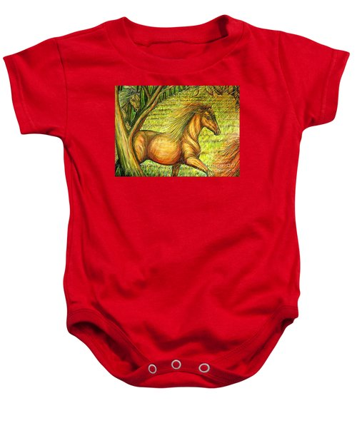 Guidance-out Of The Woods Baby Onesie