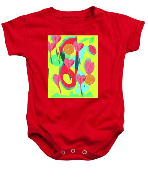 Heart Attack Baby Onesie