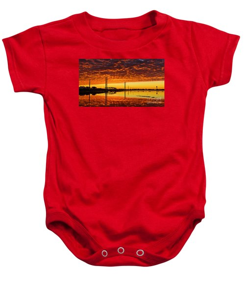 Swing Bridge Heat Baby Onesie
