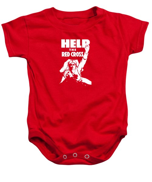 Help The Red Cross Baby Onesie