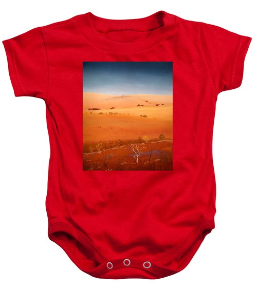 High Plains Hills Baby Onesie