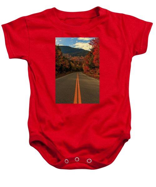 Highway  Baby Onesie