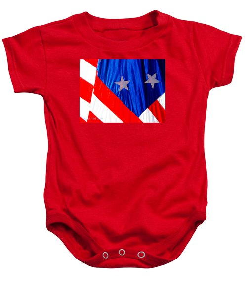 Historical American Flag Baby Onesie