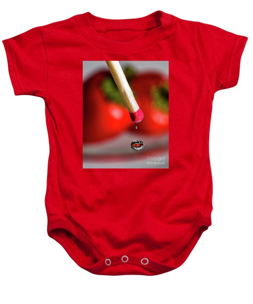 Hot Pepper Drops Baby Onesie
