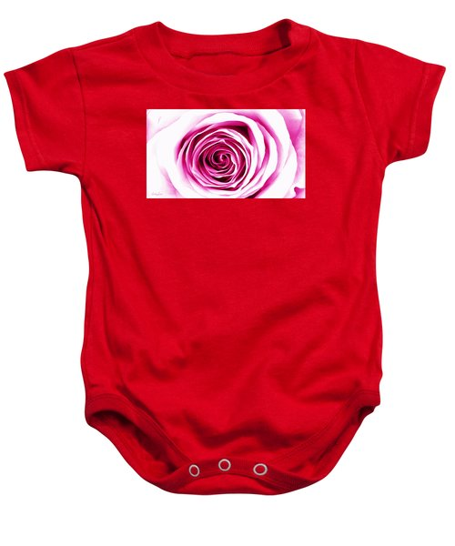 Hypnotic Pink Baby Onesie