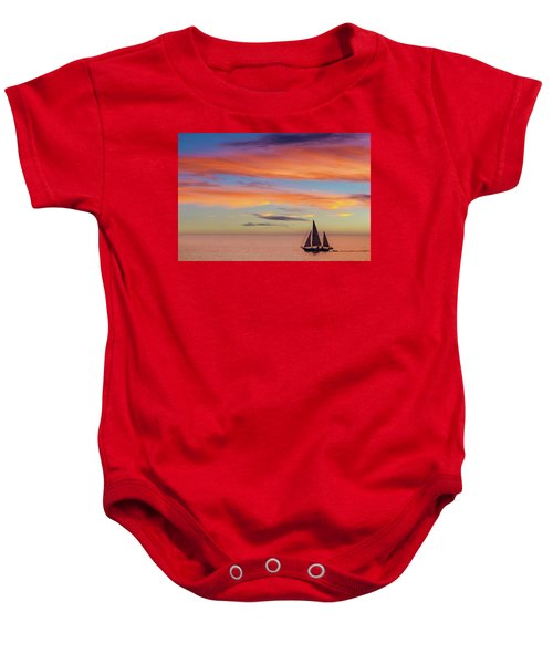 I Will Sail Away, And Take Your Heart With Me Baby Onesie