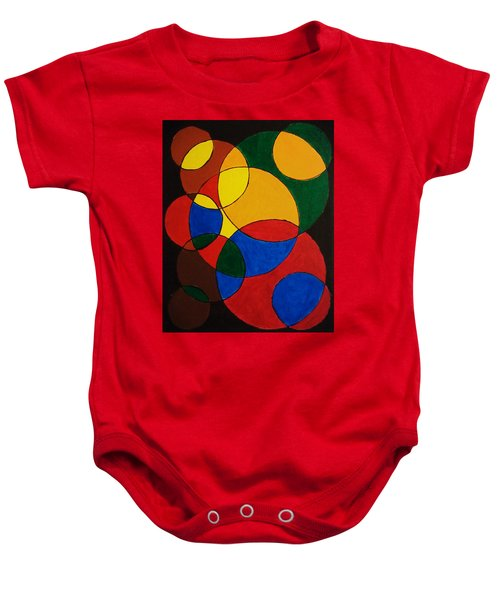 Imperfect Circles Baby Onesie