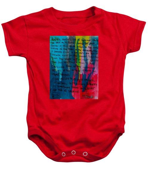 Inspiration From Warhol Baby Onesie
