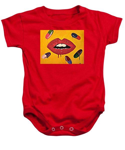 Intake Creativity  Baby Onesie by Miriam Moran