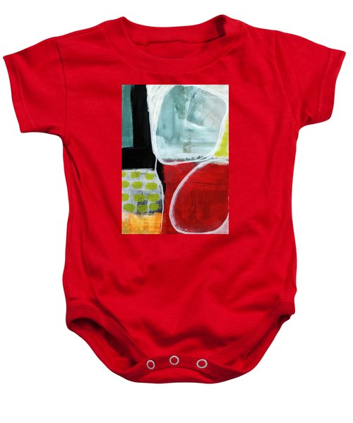 Intersection 37- Abstract Art Baby Onesie