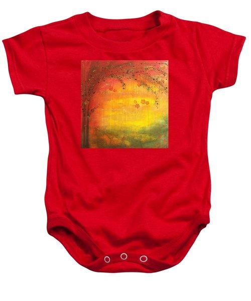 Into Fall - Tree Series Baby Onesie