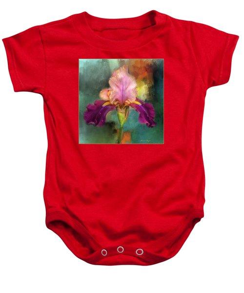 Iris Abstract  Baby Onesie