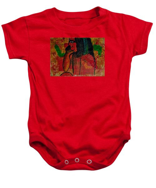 Isis, Egyption Queen Of Earth Baby Onesie