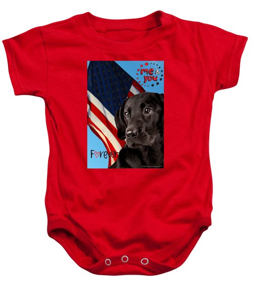 It's Just You And Me Baby Onesie