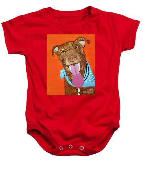 Jackson Date With Paint Mar 19 Baby Onesie