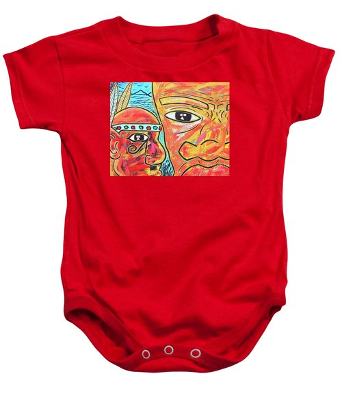 Journeys Ahead Baby Onesie