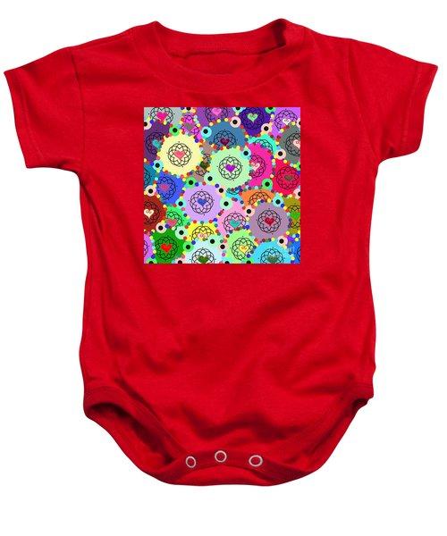 Kaleidoscope Baby Onesie