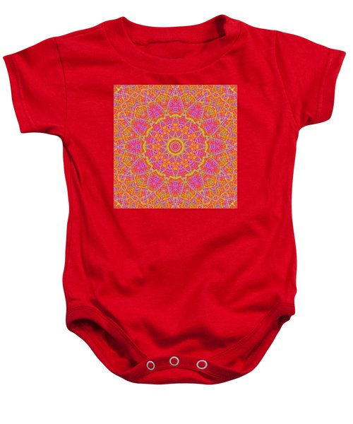 Kaleidoscopic Volpiana 1  Baby Onesie