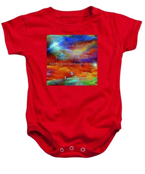 Kaypacha August 17,2016 Baby Onesie