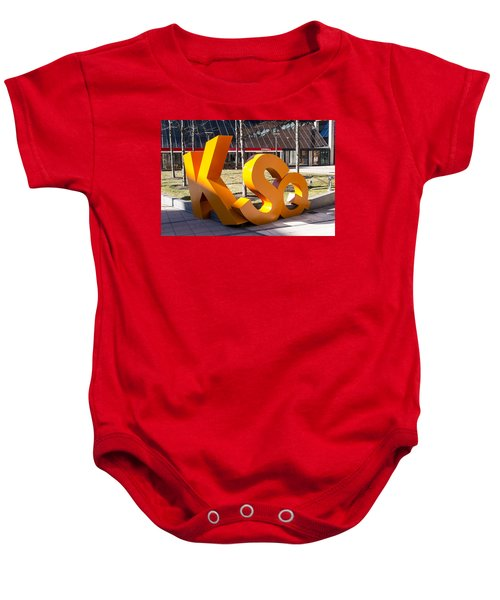 Kendall Square Sign Cambridge Ma Baby Onesie