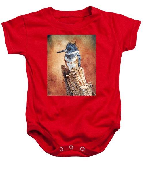 Kingfisher I Baby Onesie