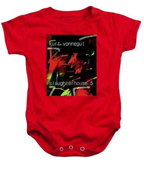 Kurt Vonnegut Poster  Baby Onesie