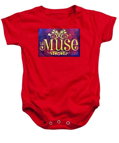 La Muse, Sign Baby Onesie
