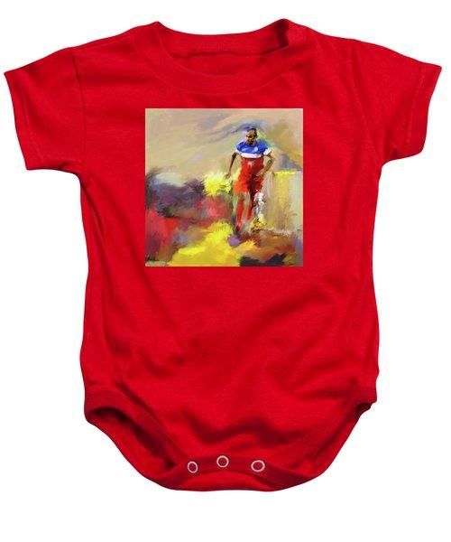 Landon Donovan 545 1 Baby Onesie by Mawra Tahreem