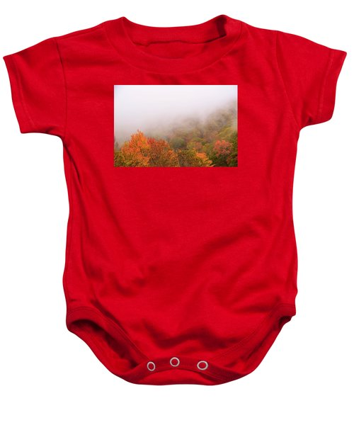 Leaves Baby Onesie