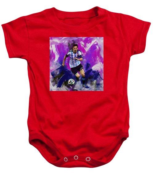 Lionel Messi 094g Baby Onesie