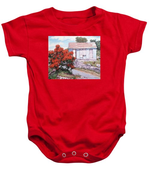 Little Poinciana Baby Onesie
