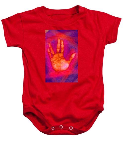 Live Long And Prosper Baby Onesie