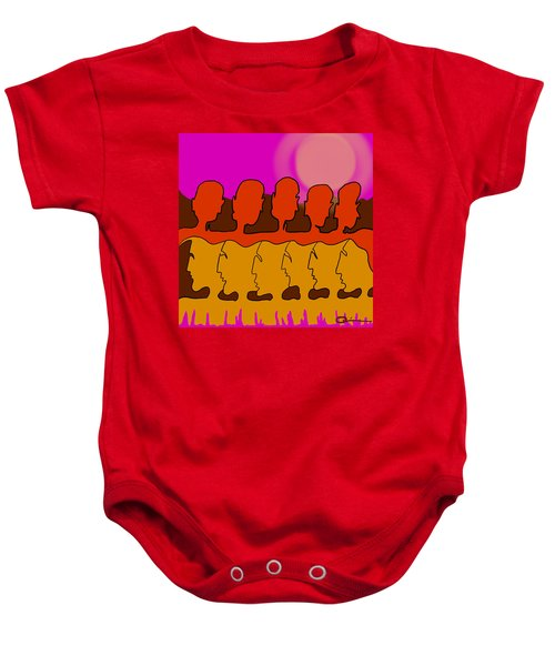 Living Together Baby Onesie