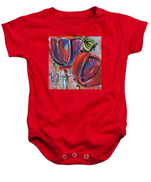 Love For You No.3 Baby Onesie
