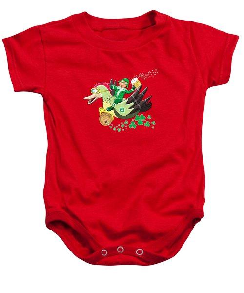 Lucky Leprechaun Baby Onesie