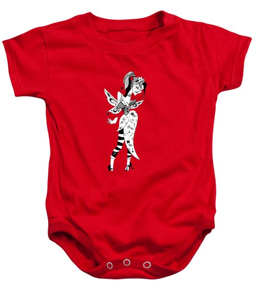 Madame Butterfly - Illustration  Baby Onesie