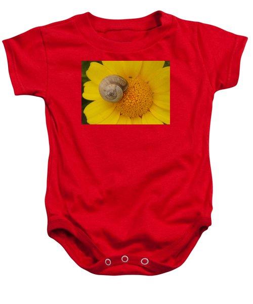 Malta Flower Baby Onesie