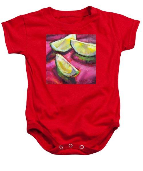Margarita Limes Baby Onesie