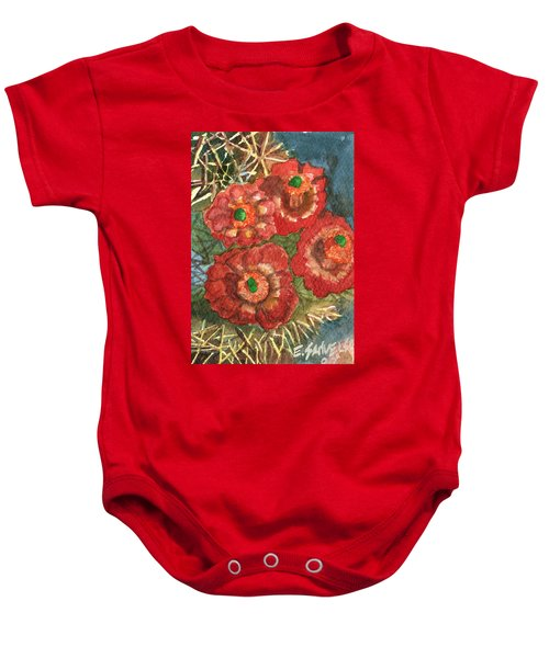 Mexican Pincushion Baby Onesie