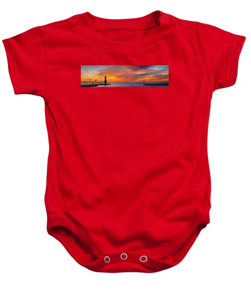Baby Onesie featuring the photograph Mine Eyes Have Seen The Glory by Bill Pevlor