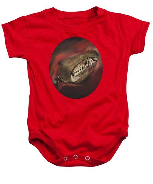 Monster Skull Baby Onesie
