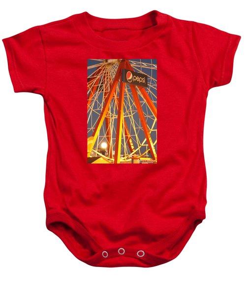 Moon And The Ferris Wheel Baby Onesie