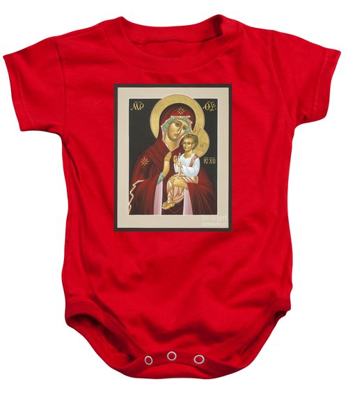Mother Of God Light In All Darkness 016 Baby Onesie