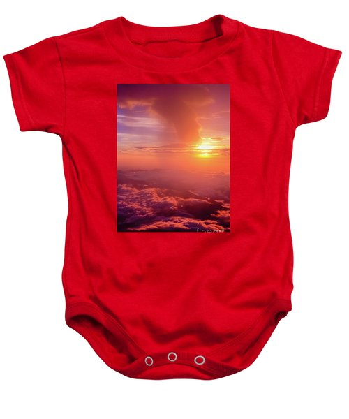 Mountain View Baby Onesie