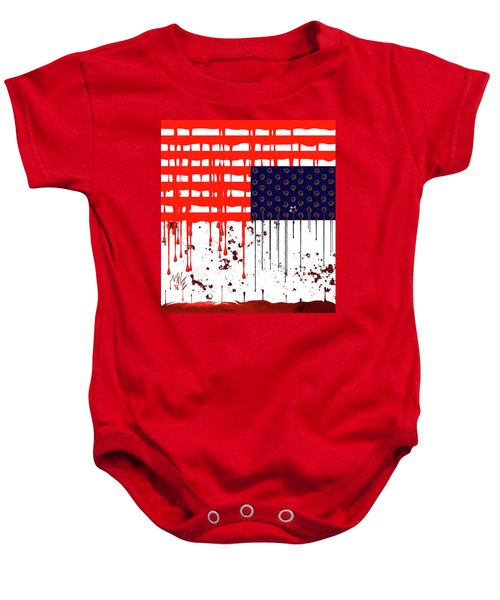 America In Distress Baby Onesie
