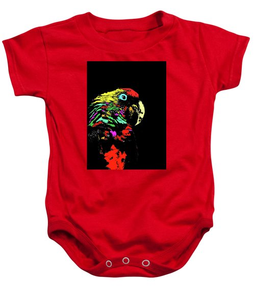My Colorful Mccaw Baby Onesie