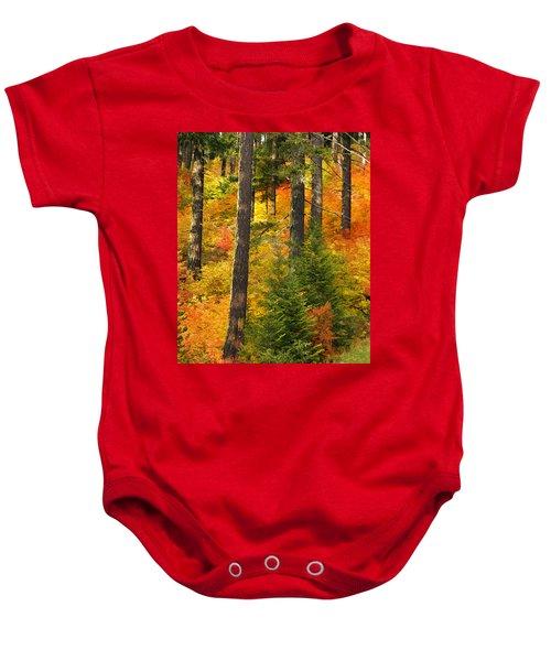 N W Autumn Baby Onesie