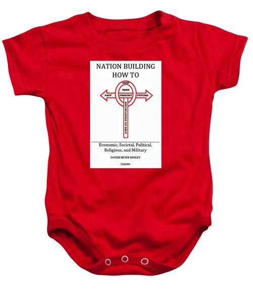 Nation Building How To Book Baby Onesie