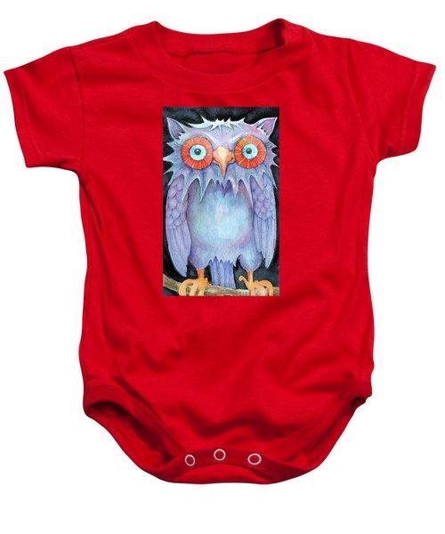 Night Owl Baby Onesie