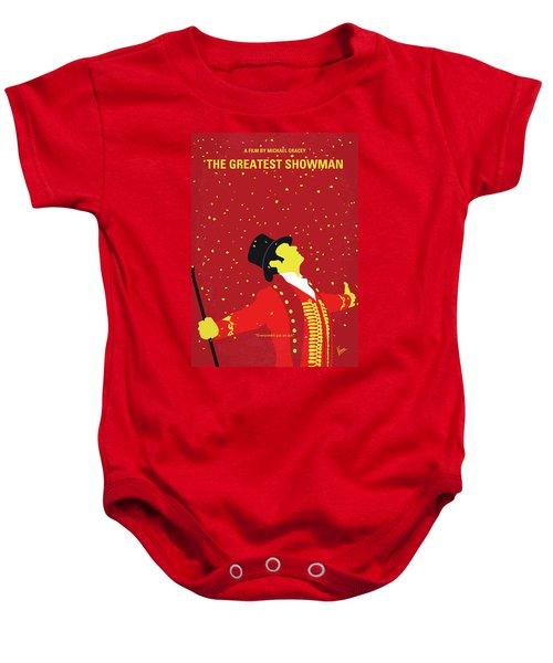 No965 My The Greatest Showman Minimal Movie Poster Baby Onesie